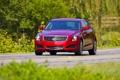 Картинка Cadillac, Красный, Авто, Машина, Кадиллак, Фары, ATS