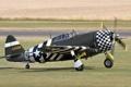 Картинка американский, Thunderbolt, истребитель-бомбардировщик, P-47G