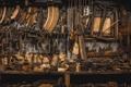 Картинка фон, инструменты, мастерская