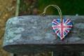 Картинка дерево, сердце, флаг, сердечко, британский
