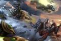 Картинка Zeratul, Demon Hunter, Valla, starcraft, diablo, Thrall, warcraft