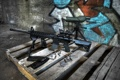Картинка винтовка, патроны, штурмовая, поддон, оружие