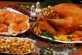 Картинка orange, bread, potatoes, thanksgiving, chiken