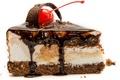 Картинка шоколад, ягода, пирожное, вишенка, крем, тортик, сладкое