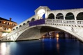 Картинка огни, люди, вечер, Италия, Венеция, архитектура, Italy
