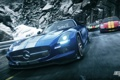 Картинка Mercedes, занос, 2013, Rivals, Need for Speed, Ford GT, NFSR