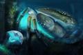 Картинка загадочный, подводный, краб, мир, Under the sea, гигантский