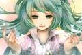 Картинка девушка, волосы, руки, арт, vocaloid, hatsune miku, nobu yan