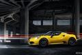 Картинка Cars, Alfa, Romeo, Yellow, Sport, Spider, 2015