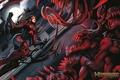 Картинка ночь, герой, монстры, комикс, witchblade
