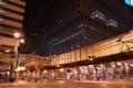 Картинка ночь, город, улица, небоскребы, чикаго, Chicago