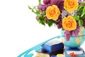 Картинка цветы, розы, lilac