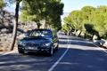 Картинка дорога, деревья, BMW, БМВ, передок, универсал, 3 Series