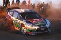 Картинка Ford, Люди, Поворот, Форд, WRC, Rally, Ралли