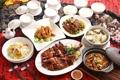 Картинка японская кухня, креветки, утка, рис, супы, блюда