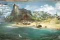 Картинка пляж, карибы, Assassin's Creed IV: Black FlagКредо Убийцы IV, остров, море, Черный Флаг