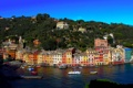 Картинка город, фото, побережье, дома, Италия, Portofino, Liguria