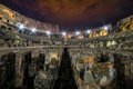 Картинка Roma, night, colosseum