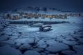 Картинка night, Arctic, Greenland, Qinngorput, Nuuk