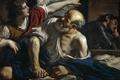 Картинка картина, религия, мифология, Гверчино, Джованни Франческо Барбьери, Святой Петр Освобождаемый Ангелом