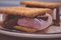 Картинка макро, шоколад, печенье, паста