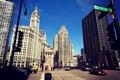 Картинка здания, дома, небоскребы, Чикаго, USA, Chicago, street