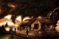 Картинка дом, люди, смерч, конец света