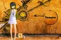 Картинка девушка, вампир, пончик, Bakemonogatari, Oshino Shinobu