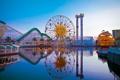 Картинка city, город, USA, California, Disneyland Anaheim