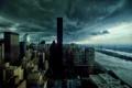 Картинка тучи, город, мрак, нью - йорк