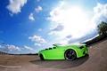 Картинка green, auto, bmw 6 series