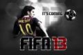 Картинка футбол, игра, messi, FIFA 13