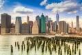 Картинка США, город, Нью-Йорк, панорама, NYC, New York City, USA