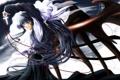 Картинка девушка, крылья, крест, аниме, арт, бант, kanon