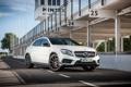 Картинка Mercedes-Benz, мерседес, AMG, UK-spec, 2014, X156, GLA 45