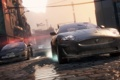 Картинка город, гонка, погоня, chevrolet corvette, need for speed most wanted 2, Jaguar XKR