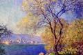 Картинка пейзаж, дерево, картина, импрессионизм, Клод Моне