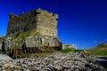 Картинка камни, замок, башня, мох, руины, Mingarry Castle