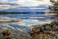 Картинка небо, пейзаж, озеро