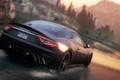 Картинка дорога, брызги, need for speed most wanted 2, Maserati GranTurismoгонка