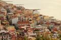 Картинка сверху, Capo d Orlando, фото, море, Sicilia, город, побережье