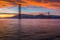 Картинка США, USA, Калифорния, United States, California, Golden Gate Bridge, Золотые Ворота