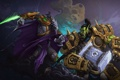 Картинка Zeratul, Warchief of the Horde, starcraft, Warcraft, Thrall, Dark Prelate, орк
