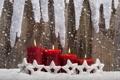 Картинка праздник, новый год, рождество, свечи, christmas, new year, happy new year