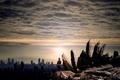 Картинка город, небо, настроение, камни, человек, разное