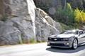 Картинка скорость, трасса, шоссе, мускул кар, солнечный день, muscle car, езда