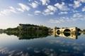 Картинка Авиньон, река, мост, крепость, франция