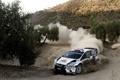 Картинка Ford, Авто, Пыль, Белый, Деревья, Поворот, WRC