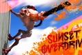Картинка мутант, TPS, Sunset Overdrive, Insomniac Games