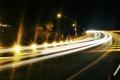 Картинка ночь, город, огни, улица